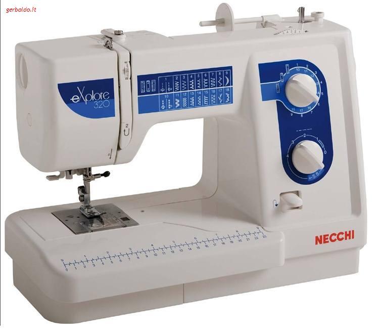 Necchi mod 320 explore righi vendita online di for Macchine cucire online