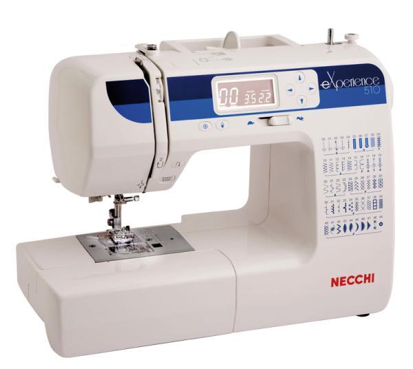 Necchi mod 510 righi vendita online di macchine per for Macchine cucire online